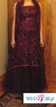 Suknia studniówkowa