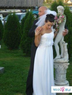 Suknia suknie ślubne Lyssa..empire, grecka nimfa..