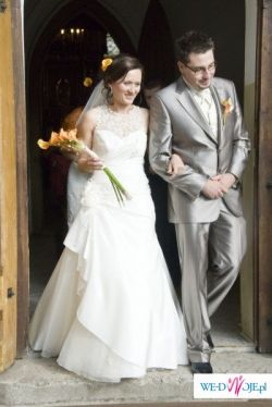 suknia szyta na wzór ikolekcji DEMETRIOS 2009. JAK NOWA!GRATISY