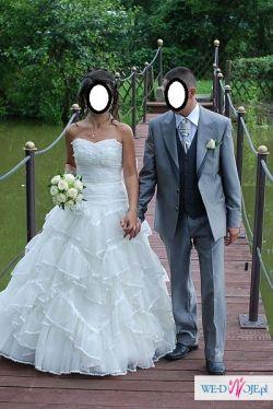 suknia tiulowa