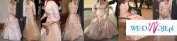 suknia toffi -  gorset+ spódnica+ bolerko