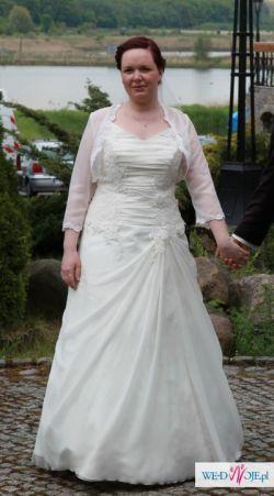 Suknia w rozmiarze 40-42