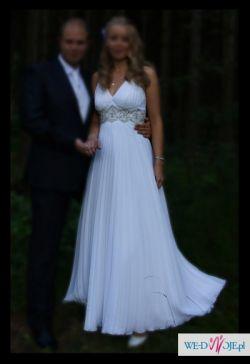 Suknia w stylu empire, rozmiar 38/40 firmy  Igar - model Gracja