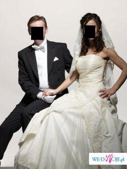 suknia w stylu hiszpańskim..