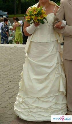 suknia według własnego modelu