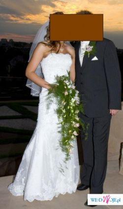 Suknia WHITE ONE, model 152, rozmiar 36/38