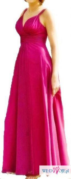 Suknia wieczorowa rozm L SALON MODY EVITA cena katalog 970zł
