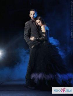 Suknia wieczorowa w stylu gothic