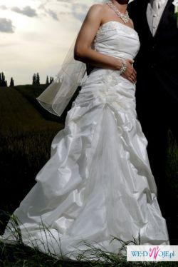 38b3b9da0a Suknia wzorowana na LINEA RAFFAELLI - Suknie ślubne - Ogłoszenie ...