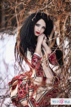 Suknia XIX wieczna