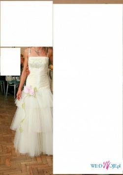 suknia  z drugiego dnia ślubu
