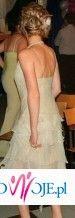 suknia z falbanami 69zł...w salonie 300zł