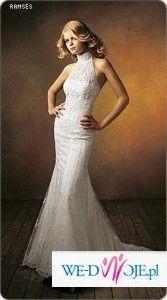 Suknia z hiszpańskiej koronki