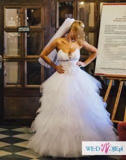 suknia z salonu loretta, model vanessa 1124