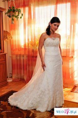 Suknia z salonu Papa Michel - model Caen (bez rękawów)