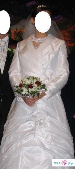 Suknia z tafty rozmiar 40