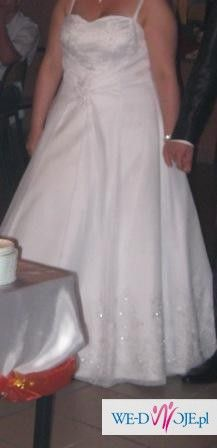 Suknie ślubną sprzedam tanio