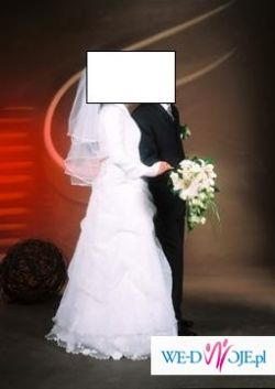 Super cena za super suknie ślubną