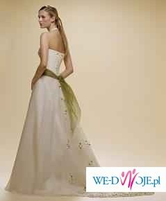 SUPER OKAZJA - Śliczna hiszpańska suknia + bolerko gratis
