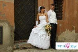 Super okazja !!!! Suknia ślubna + dodatki