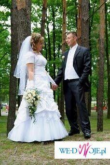Super śliczna suknia ślubna