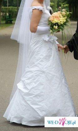 Super sukienka ślubna-ELIZABETH KONIN