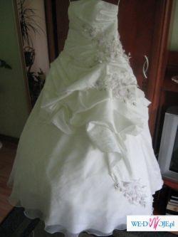 super suknia ecru