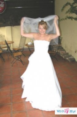 super suknia ślubna sprzedam tanio...
