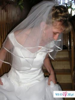 Super tania suknia ślubna