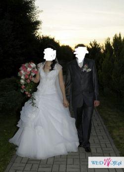 Super tania suknia ślubna + gratisy