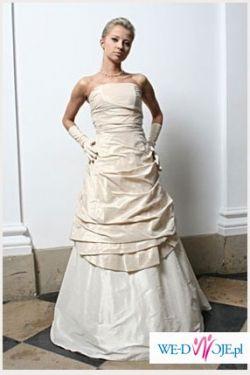 Swietna oryginalna suknia MADAME ZARĘBA model SILAN 36/38