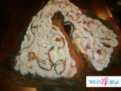 Świetny prezent gwiazdkowy!!! Filcowany szal fioletowy-rękodzieło artystyczne