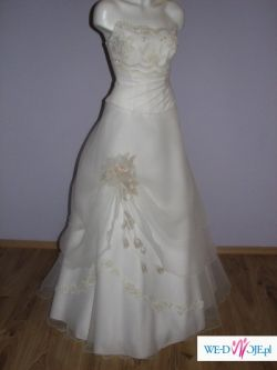 Szczęśliwa suknia ślubna!