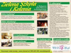 Szlak Piastowski - Zielona Szkoła - Kolonie