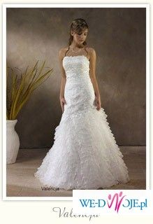 szykowna suknia ślubna