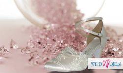 Taneczne buty ślubne KOZDRA- wygodne jak kapciuszki