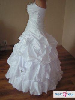 Tania suknia ślubna +dodatki