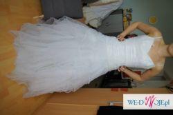 TANIA suknia ślubna  Mariee De Paris 2 w 1