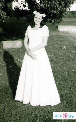 tania suknia ślubna rozmiar ok. 40
