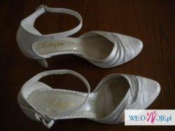 Tanio!! buty ślubne rozmiar 38 idealny stan założone tylko raz