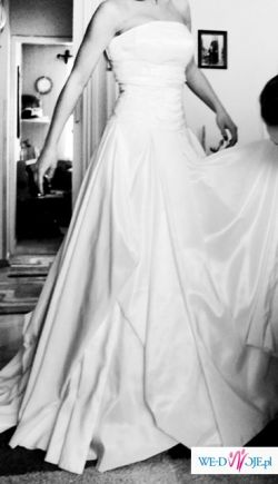TANIO sprzedam, suknia ślubna rozm.36