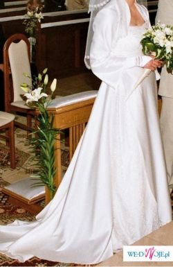 Tanio sprzedam suknię ślubną