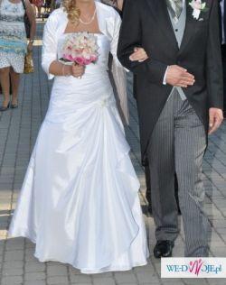 Tanio!! Sprzedam suknię ślubną wraz z dodatkami PILNE!!!