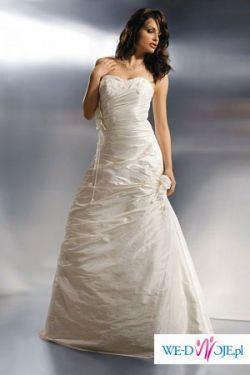 Tanio suknia Agnes model 1600 rozmiar 38 wzrost 154
