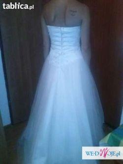 tanio tanio suknie ślubną sprzedam