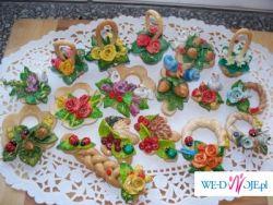 Tradycyjne, ręcznie robione szyszki weselne!!
