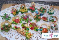 Tradycyjne, ręcznie robione szyszki weselne! Polecam!