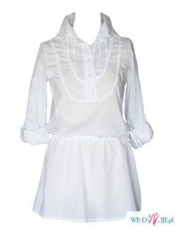Tunika biała bawełniana