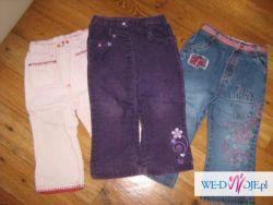 ubranka 86-98 po dziewczynce