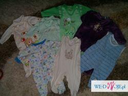 ubranka dla chłopca 0-3 miesiące 27 szt zestaw 2